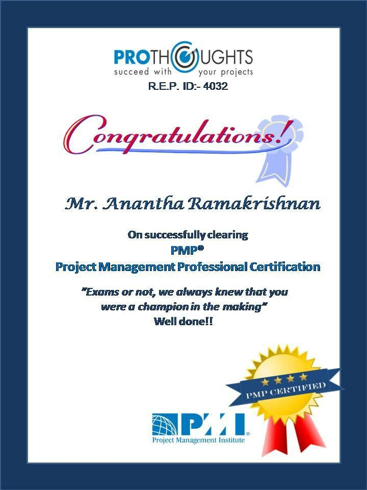 Training Provider In Professional Certification Courses In India