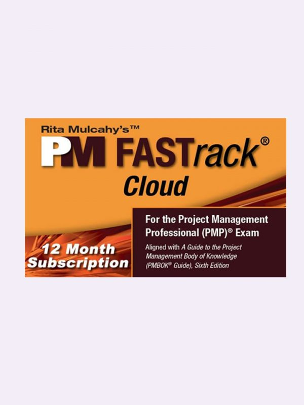 Rita Mulcahy's PM FASTrack® Cloud – PMP® Exam Simulator – Version 9 – 12 Month